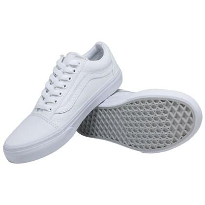 Tênis Vans Classic Old Skool True White