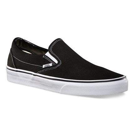 TÊNIS VANS CLASSIC SLIP ON BLACK PRETO