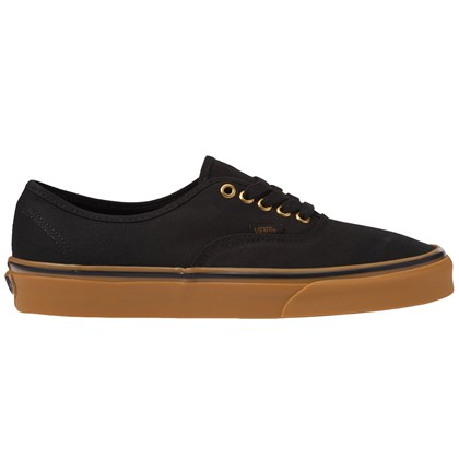 Tênis Vans Classic U Authentic Black Rubber
