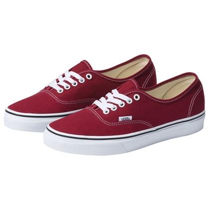 Tênis Vans Classic U Authentic Rumba Red