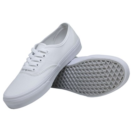 TÊNIS VANS CLASSIC U AUTHENTIC TRUE WHITE BRANCO