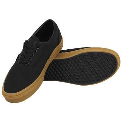Tênis Vans Era Black Classic Gum
