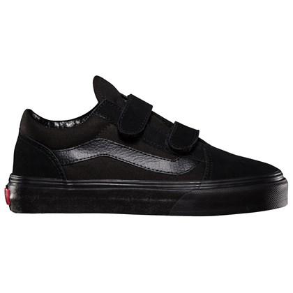 Tênis Vans Infantil Old Skool Black Black