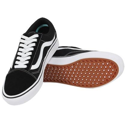 3b7d83e1f16 ... Tênis Vans Old Skool Comfycush Black True White