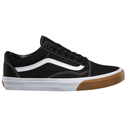 Tênis Vans Old Skool Gum Bumper Black True White