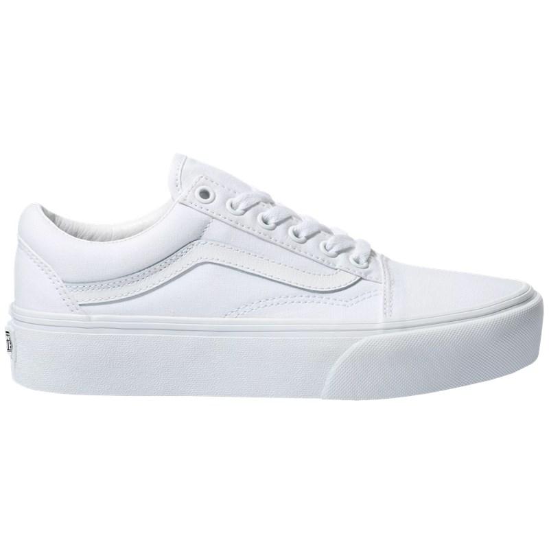 Tênis Vans Old Skool Platform True White