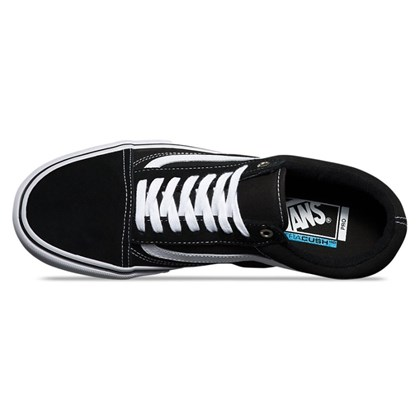 Tênis Vans Old Skool Pro Black White Red