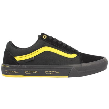 Tênis Vans Old Skool Pro BMX Larry Edgar Black Yellow