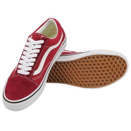 Tênis Vans Old Skool Rumba Red True White