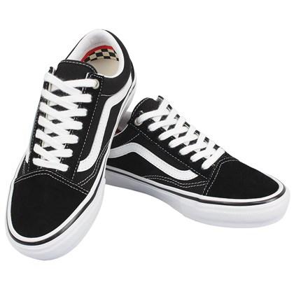 Tênis Vans Old Skool Skate Classics Black White