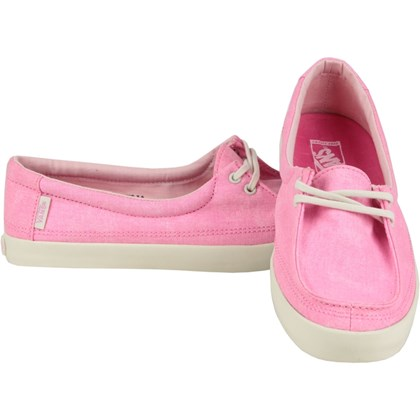 Tênis Vans Rata Lo Surf Siders Washed Canvas Rosebloom