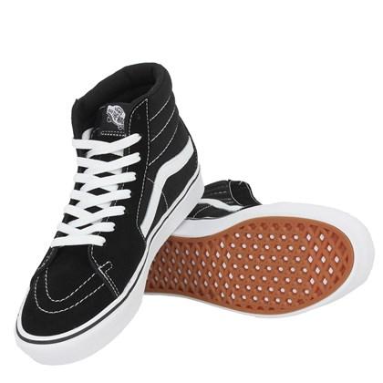 Tênis Vans SK8 Hi Comfycush Black White