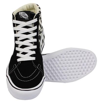 Tênis Vans Sk8-Hi Core Lite Ckeckerboard Black White