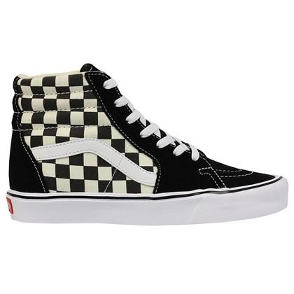 Tênis Vans Sk8-Hi Core Lite Ckeckrboard Black White