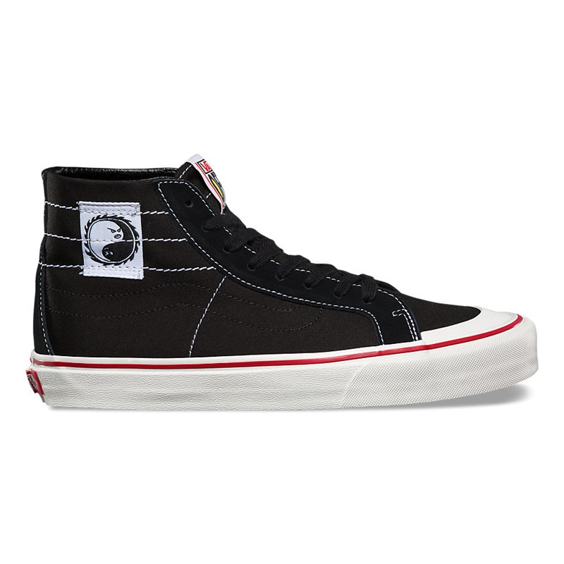 Tênis Vans sk8-hi Dane Reynolds 138 Decon Sf Black Red
