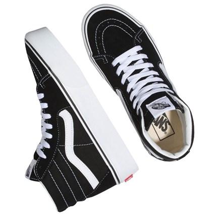 Tênis Vans Sk8 Hi Platform 2.0 Black True White