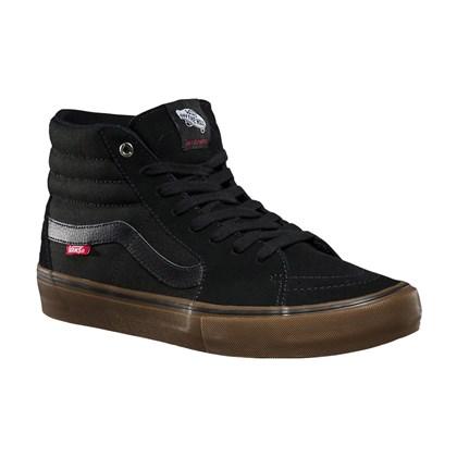 Tênis Vans Sk8 Hi Pro Black Gum