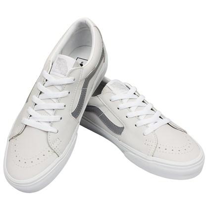 Tênis Vans SK8 Low Reflective True White