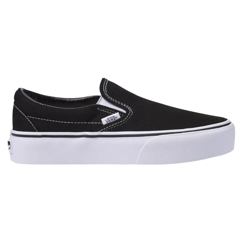 Tênis Vans Slip On Platform Black