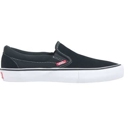 Tênis Vans Slip On Pro Black White Gum