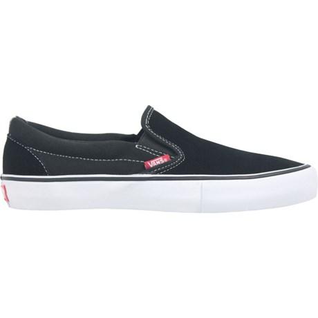Tênis Vans Slip On Pro Black White Gum