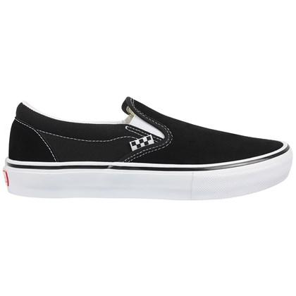 Tênis Vans Slip On Pro Skate Classics Black White