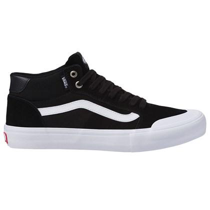 Tênis Vans Style 112 Mid Pro Black White