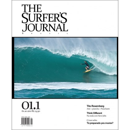 THE SURFERS JOURNAL BRASIL VOLUME 1 NÚMERO 1 MAI / JUN 2012