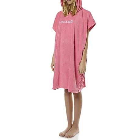 Toalha Poncho Rip Curl Hooded Pink Feminina