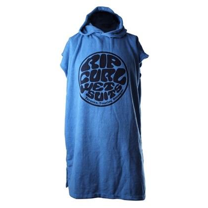 Toalha Poncho Rip Curl Juvenil Hooded Blue