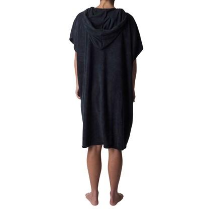 Toalha Poncho Rip Curl LNS Hooded Black Feminina