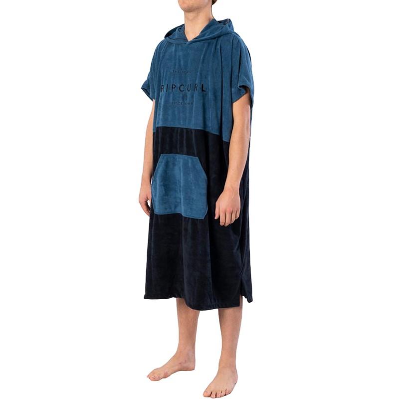 Toalha Poncho Rip Curl Valley Hooded Legion Blue