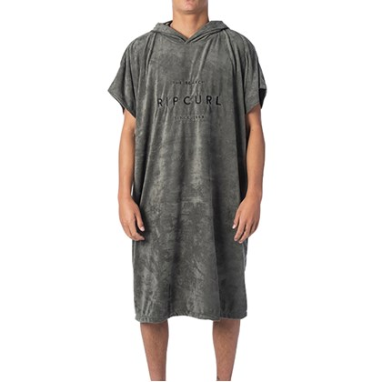 Toalha Poncho Rip Curl Valley Hooded Towel Dark Olive