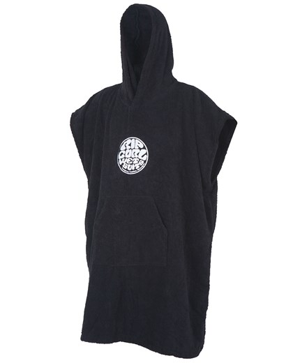Toalha Poncho Rip Curl Wet As Hooded Towel Black