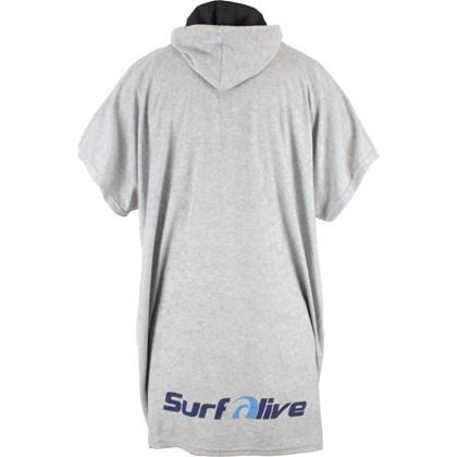 Toalha Poncho Surf Alive Cinza