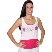 TOP VOLCOM 2 EM 1 SIDE SPLITTING FEMININO OLD WHITE