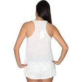 TOP VOLCOM SUCH A FLIRT FEMININO OLD WHITE