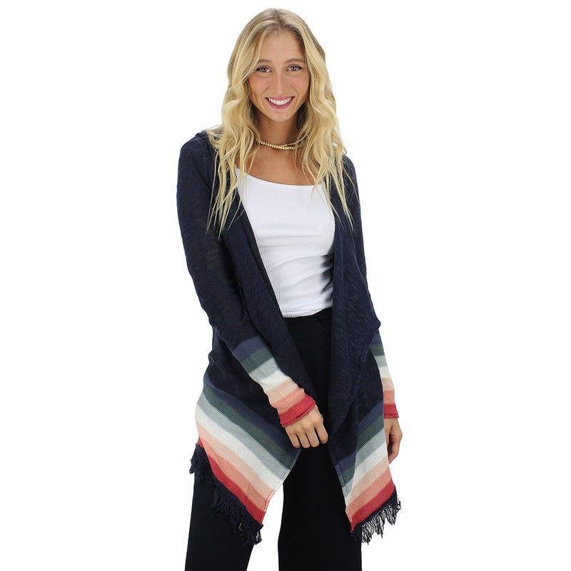 Tricot Rip Curl Lindee Cardigan Navy