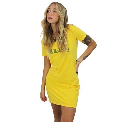 Vestido Billabong Tropic Summer Amarelo