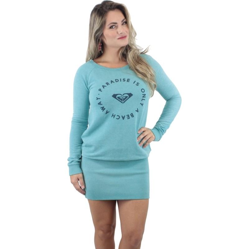 Vestido Roxy Love The Sea Tile Blue