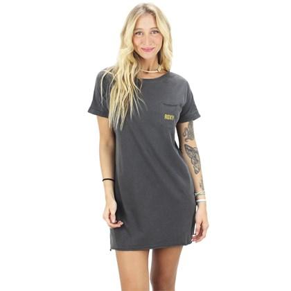 Vestido Roxy Made Of Sunshine Cinza