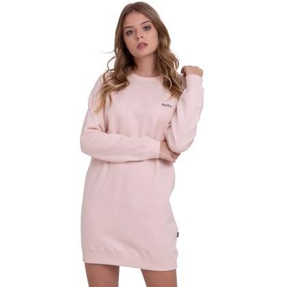 Vestido Roxy Peace Of Mind Rosa Claro