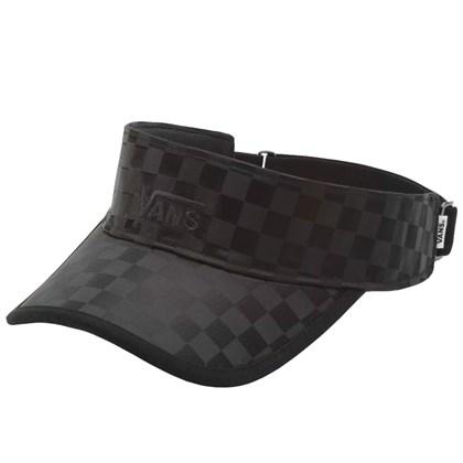 Viseira Vans Check That Black Checker